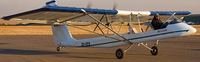 A real-life Aircam Kitplane.