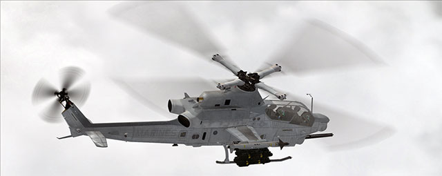 Area51's AH-1Z Viper helicopter in FSX.