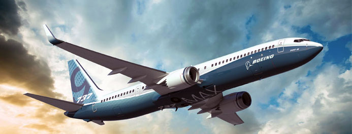 Boeing 737 Max Artist Drawing.