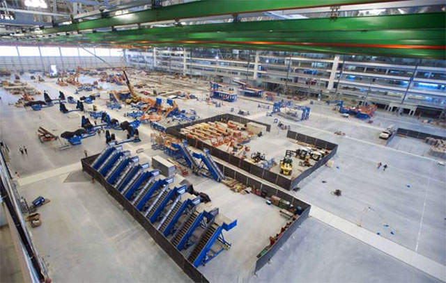 Boeing's South Carolina Plant.