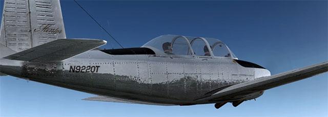 Carenado's T-34B Mentor in FSX.