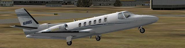 Eaglesoft's Cessna Citation.