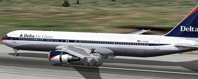 Delta Air Lines POSKY 767 v4.