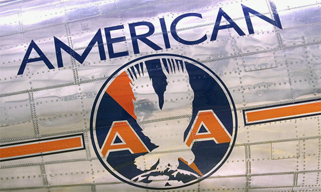 A very early American Airlines livery.