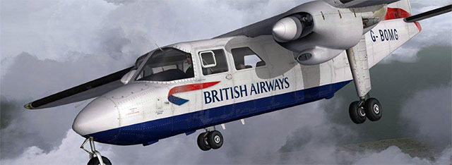 British Airways BN-2 Islander.