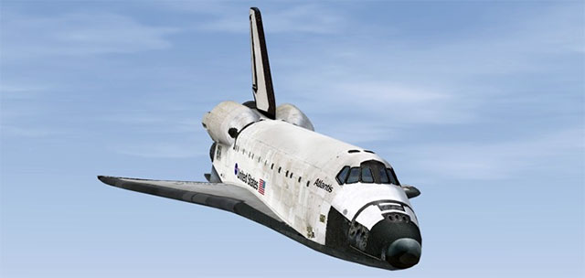 The Just Flight Space Shuttle