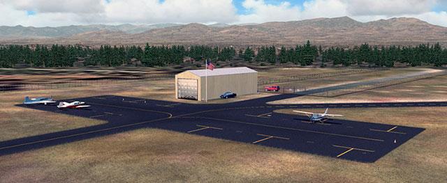 MikeMax's Salina-Gunnison Airport scenery.