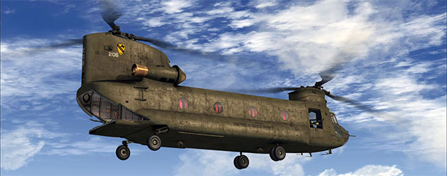 Nemeth Design's Chinook for FSX.