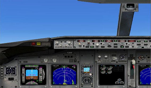 NPSIMPanel's 737 panel for FSX.