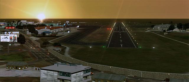 Jeju runway