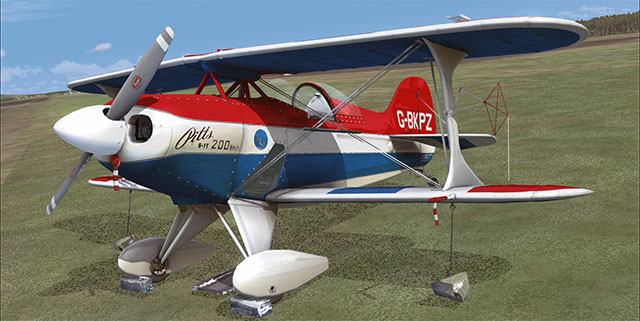 Pitts S-1 Special for FSX and FS2004.