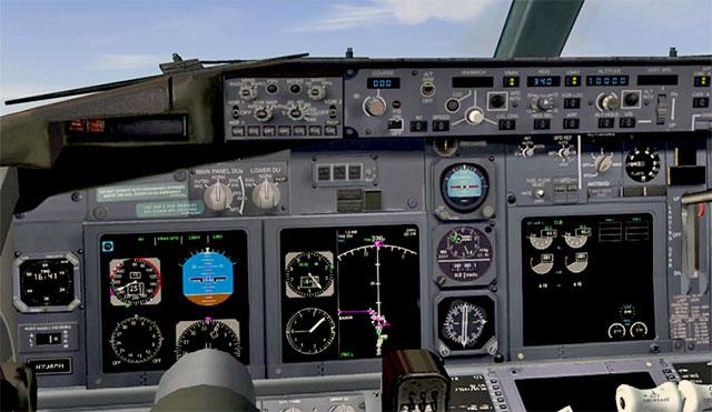 PMDG 737-800 Virtual Cockpit