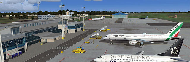 Using the scenery in FSX