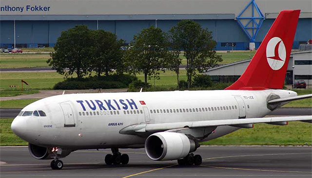 Turkish Airlines A310.