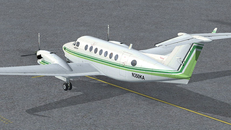 Aircraft on ramp.