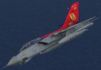 Screenshot of Tornado GR1 in anniversary colors.