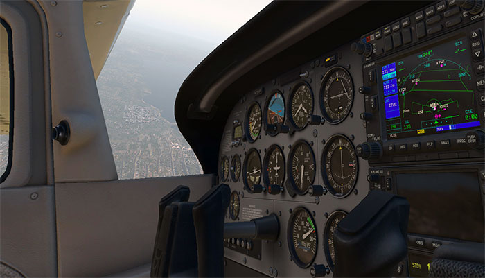 3D cockpit in XP11.