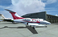 Screenshot of 175 Jet Charter Phenom 100 LE Corporate on the ground.