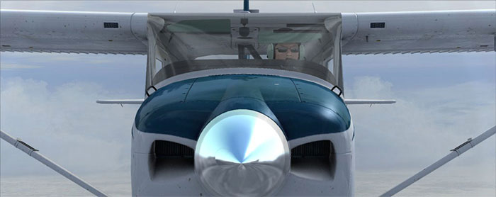 Cessna 182 nosecone