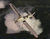Screenshot of 1936 PT-16 in flight.