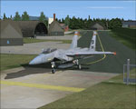 Jet on the ground at Soesterberg Air Base.