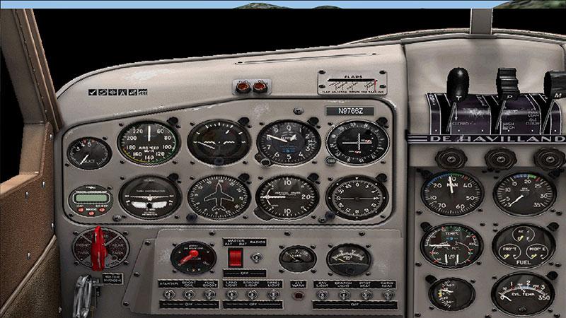 de Havilland Beaver panel.