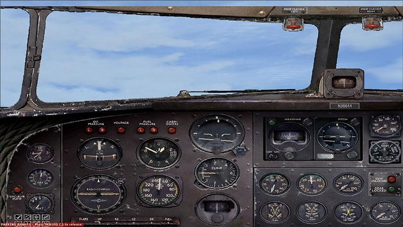 DC-3 panel.