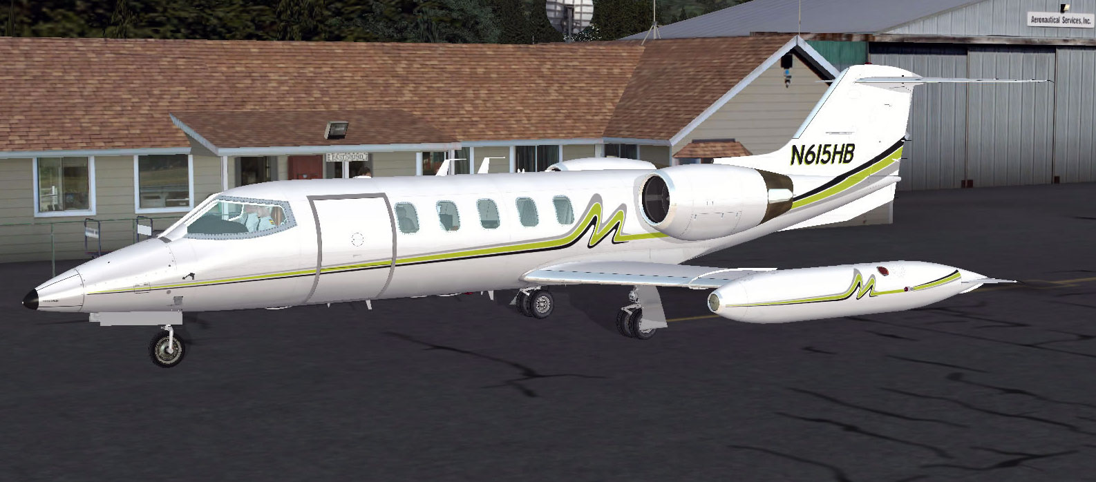 Flysimware's Learjet 35A for FSX & P3D Updated to v2 8