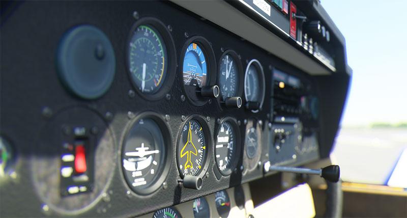 3D panel in FS2020.