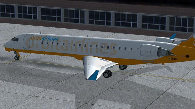 Jet in FSX.
