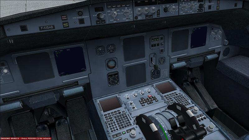 A321 panel.