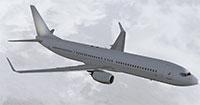TDS 737-900 in flight.