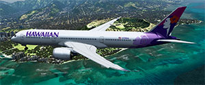 Boeing 787 freeware P3D add-on.