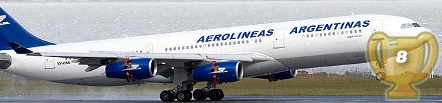 8: Aerolineas Argentinas