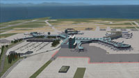 Screenshot of Vancouver International Airport.