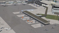 Screenshot of Kastrup Airport, Copenhagen.