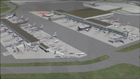 Screenshot of John F. Kennedy International Airport, New York.