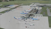 Screenshot of Orly International Airport, Paris.