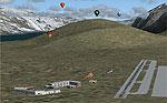 Screenshot of Polar Bear Island scenery.