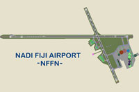 Overview of Nadi Airport.