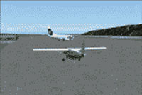 Screenshot of Kodiak Airport scenery.