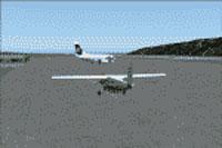 Screenshot of Kodiak Airport scenery.