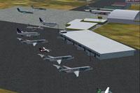 Screenshot of Ninoy Aquino International Airport scenery.