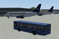 Screenshot of Buenos Aires Aeroparque scenery.