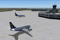 Screenshot of Montevideo Carrasco Gen C.L. Berisso Airport.