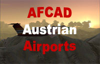Cover image for 'AFCAD Austrian Airports'.
