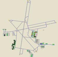 Overview of Winnipeg Int'l Airport.