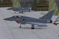 Screenshot of AI MAIW German AF Eurofighter on the ground.
