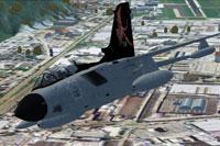 Screenshot of Italian AF Tornado in flight.