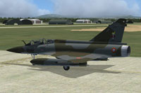 Screenshot of AI MAIW Mirage 2000 on the ground.